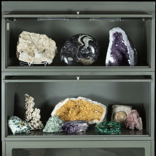 Geodes in Metal Barrister -1